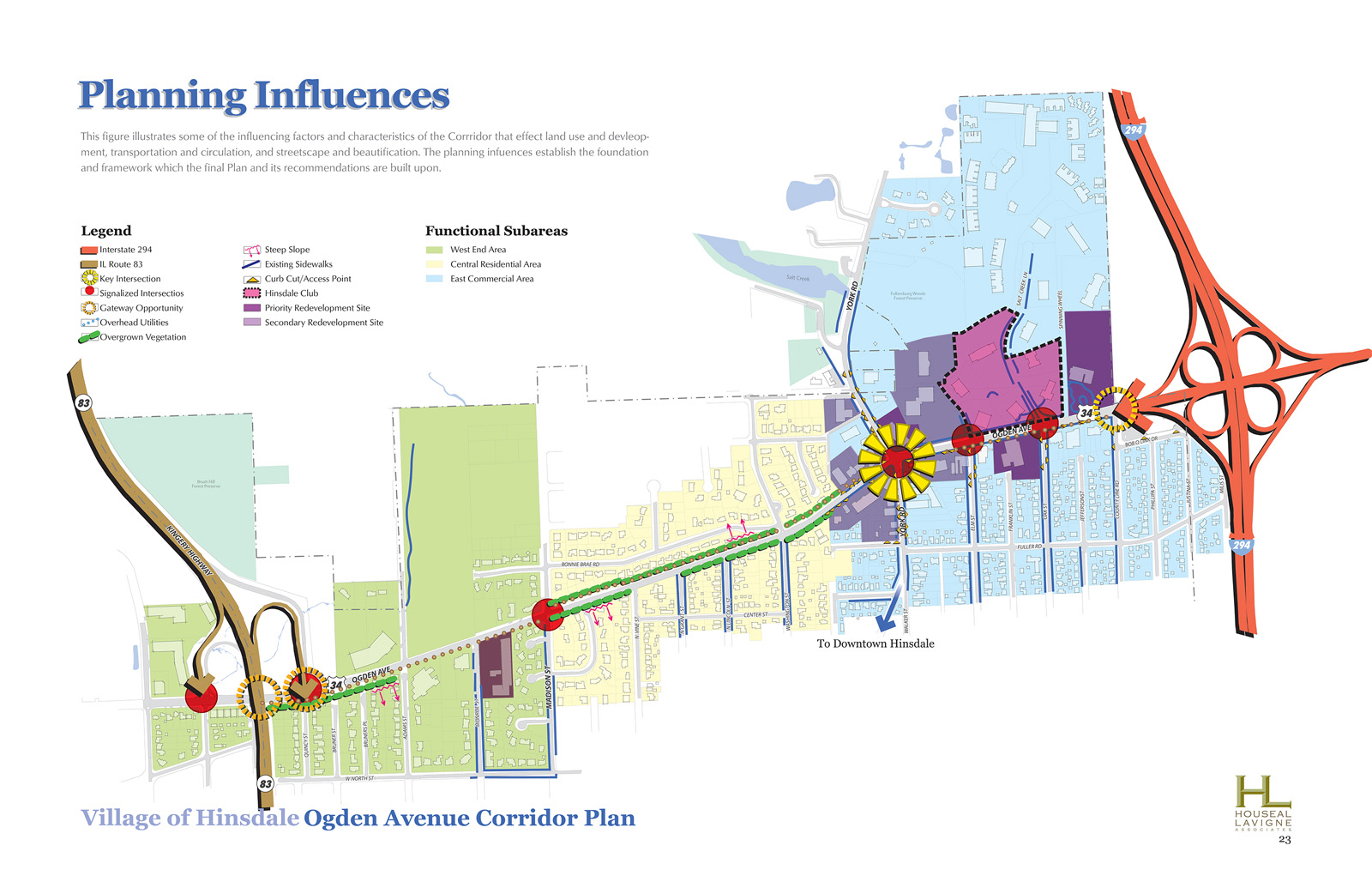 Village of Hinsdale Ogden Avenue Corridor Plan