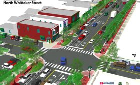 North Whittaker – Downtown Streetscape Plan
