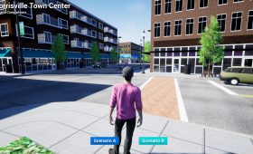 Morrisville Immersive 3D Town Center Plan